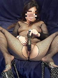 High heels, Fishnet, Asian milf, Heels, Body, Milf stocking