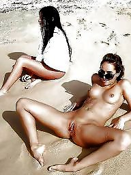 Group, Beach sex