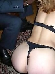 Interracial, Group, Redhead wife