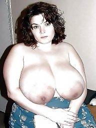 Mature bbw, Massive boobs, Massive