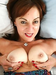 British, British mature, Old milf, Old mature, Stocking milf