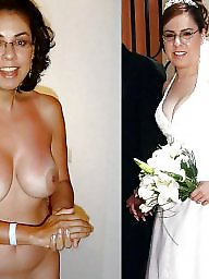 Bride, Clothed, Brides, Clothing, Milf amateur, Clothes