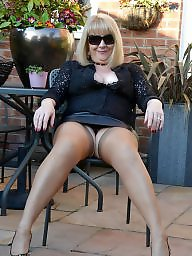 Mature stockings, Mature mix