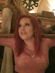 Redhead, Big boobs