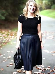 Leather, Skirt, Skirts
