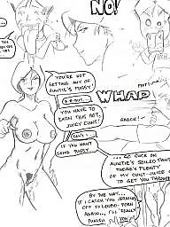 Cartoon, Femdom, Femdom cartoon, Femdom cartoons, Finger, Cartoon femdom