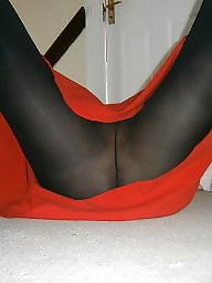 Skirt, Mini skirt, Upskirts, Red, Skirts, Knickers