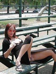 Upskirt flashing, Nudity, Public nudity, Public flashing