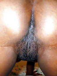 Ebony hairy, Hairy ebony, Black hairy, Caribbean, Black amateur