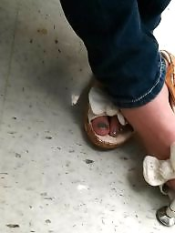 Feet, Foot, Candid, College, Turkish teen, Foot teen