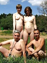 Group, Mature couple, Nude, Couple, Mature group, Mature nude