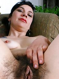 Milf hairy, Spreaders, Hairy milf