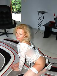 Blonde milf, Blonde mature