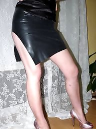 Latex, Skirt, Rubber, Sexy wife, Teen skirt
