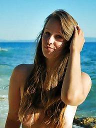 Beach, Teens, Teen beach, Holland, Beach amateur