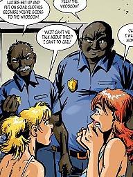 Interracial cartoon, Interracial cartoons, Cartoon interracial, Sex cartoon, Cartoon sex, Police