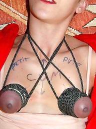 Bondage, Amateur bondage, Breast, Breasts, Breast bondage, Tit bdsm