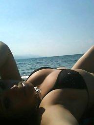 Beach, Swim, Cumming, Beach voyeur