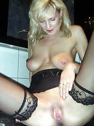 Mature stocking, Stockings voyeur