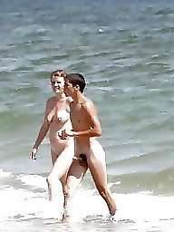 Nude beach, Caught, Nude, Erection, Voyeur beach, Beach voyeur