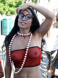 Fantasy fest, Public boobs, Fantasy, Public nudity