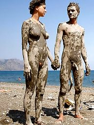 Nude, Couple, Nude beach, Couples, Nude couples, Voyeur beach