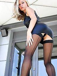 Heels, High heels, High, Stockings heels