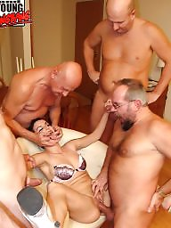 Mature sex, Group sex