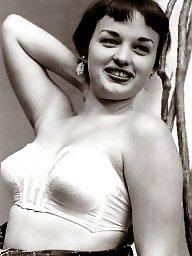 Ladies, A bra, Vintage amateur