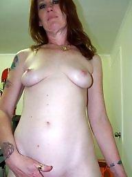 Redhead wife, My wife