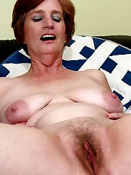 Mature hairy, Hairy mature, Natural