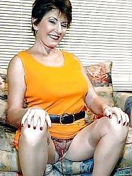 Big mature, Mature stockings, Mature big boobs