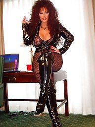 Smoking, Latex, Boots, Redhead, Smoke