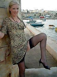 Vintage stockings, Vintage mature, Fun, Mature ladies