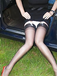 Car, Vintage nylon, Stockings car, Cars
