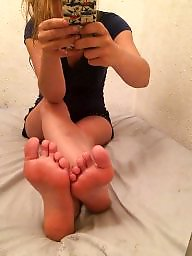 Amateur teen, Teen feet, Mirror, Amateur feet