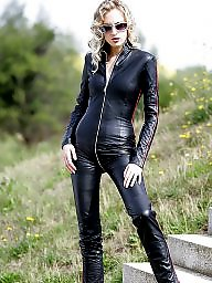 Boots, Latex, Leather, Pvc, Mature leather, Mature boots