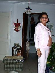 Pregnant, Arabian, French, Milf mom, Pregnant amateur