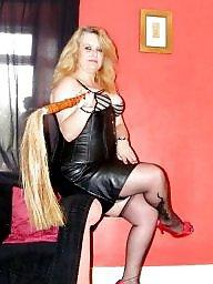 Mature, Leather, Pvc, Mature femdom, Prostitute, Bbw femdom