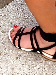 Fetish, Sandals, Hidden, Foot