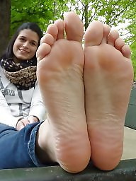 Feet, Arabian, French, Brunette