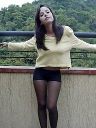 Legs, Upskirt stockings, Leggings