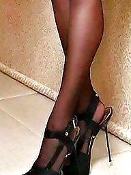 Shoes, Shoe, Amateur stocking, Stocking amateur