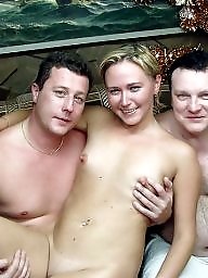 Sauna, Group, Funny