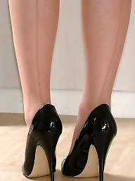 Nylon, Heels, Nylons, Sheer, Stockings heels, Nice