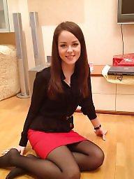 Upskirt, Upskirt stockings, Tights, High, High heels