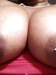 Ebony amateur, Black tits, Titties