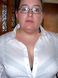 Bbw tits, Office, Dressed, Bbw dressed, Tits flash, Officer