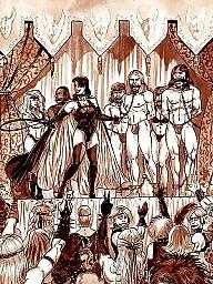 Slave, Bdsm cartoon, Slaves, Cartoon bdsm