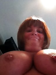 My mom, Mom boobs, Big nipples, Big nipple, Mom tits, Tits mom